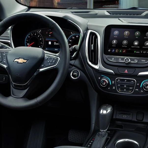 2020 chevy equinox infotainment center in dash board