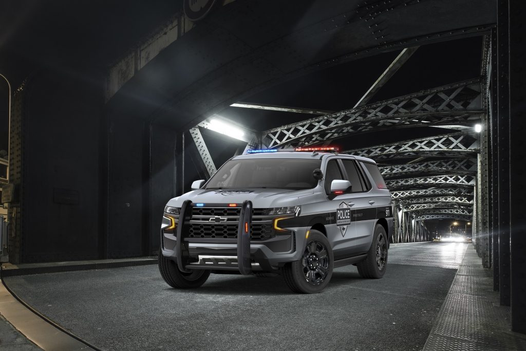 2021 Chevrolet Tahoe Police Pursuit Vehicle SUV