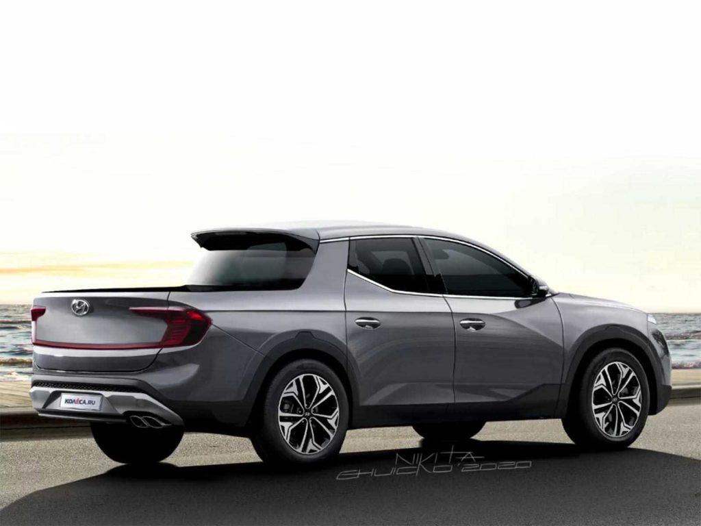 2021 Hyundai Santa Cruz Rendering | Kolesa