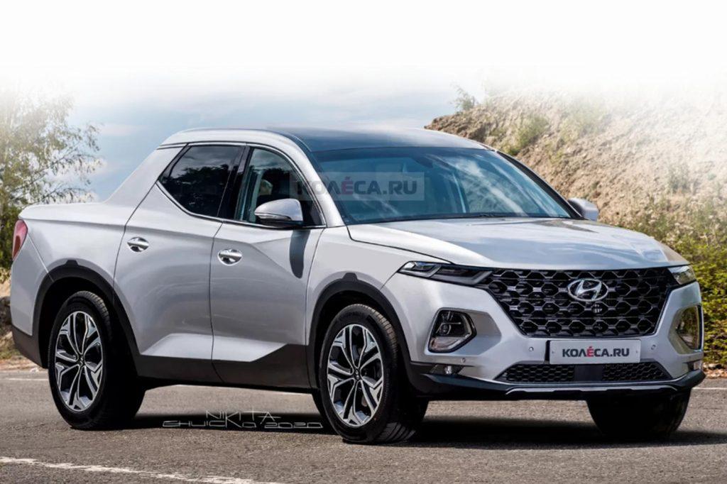2022 Hyundai Santa Cruz Rendering | Kolesa-2