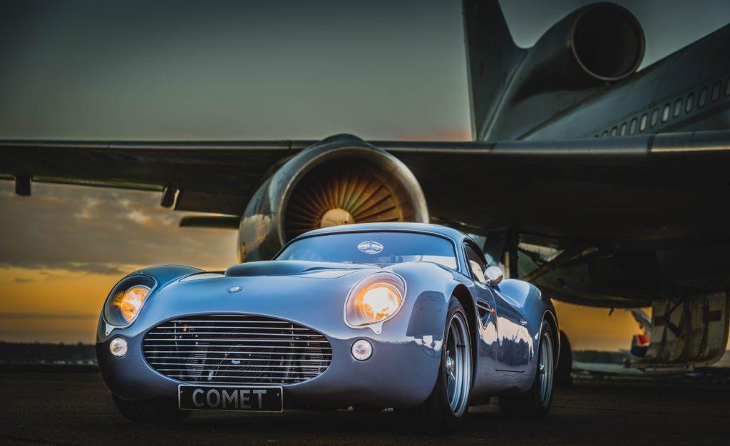 Dowsetts Classic Car on runway