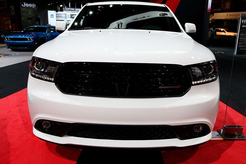 2016 Dodge Durango is on display at the 108th Annual Chicago Auto Show