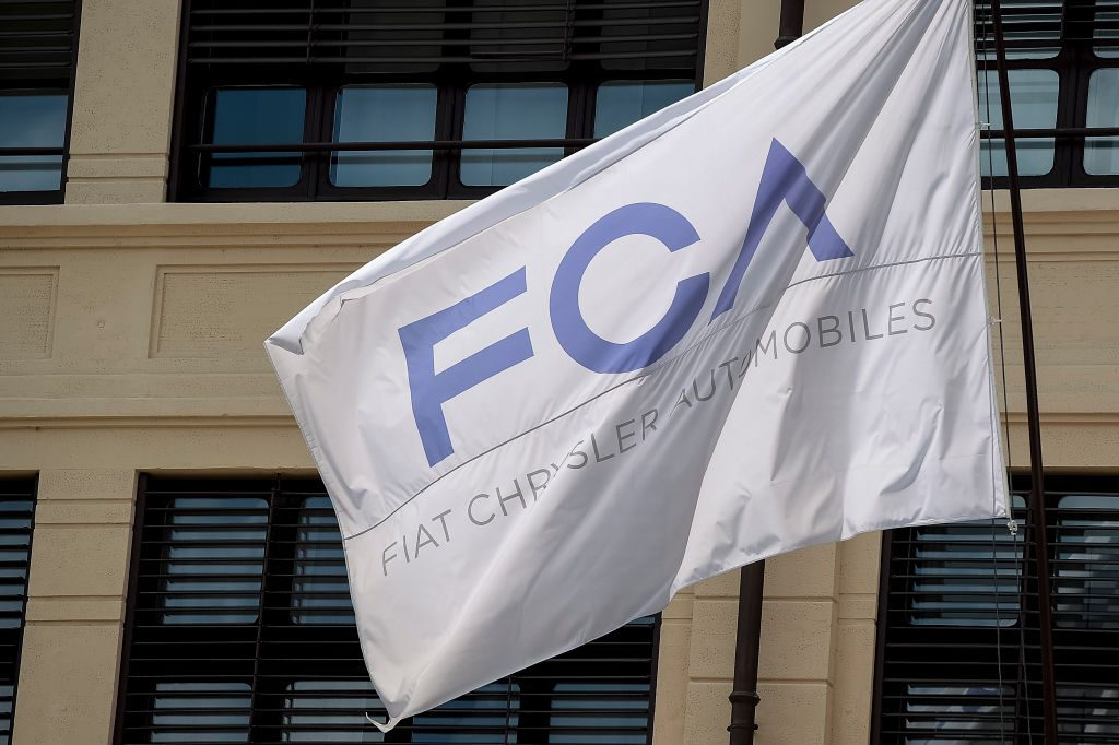 Fiat Chrysler Automobiles flag