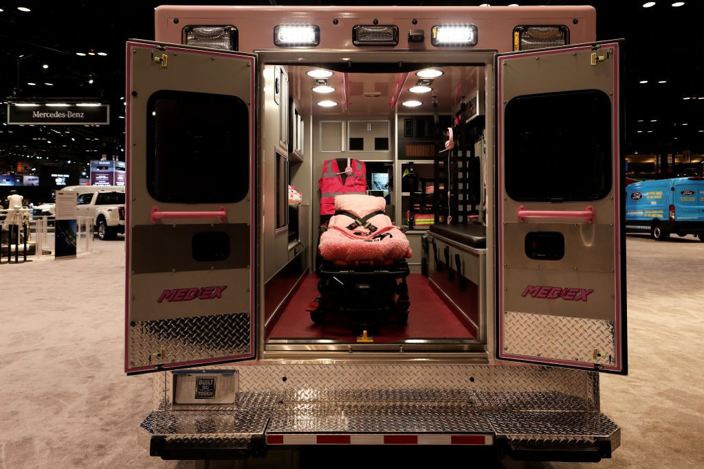 Ford E-Series Cutaway with an ambulance conversion