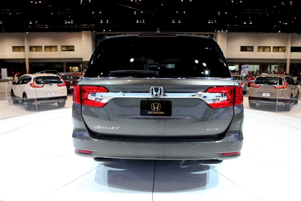 2017 Honda Odyssey is on display at the 109th Annual Chicago Auto Show at McCormick Place