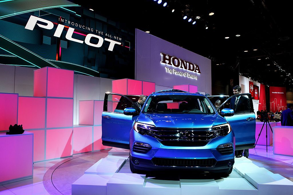 2016 Honda Pilot at the 107th Annual Chicago Auto Show