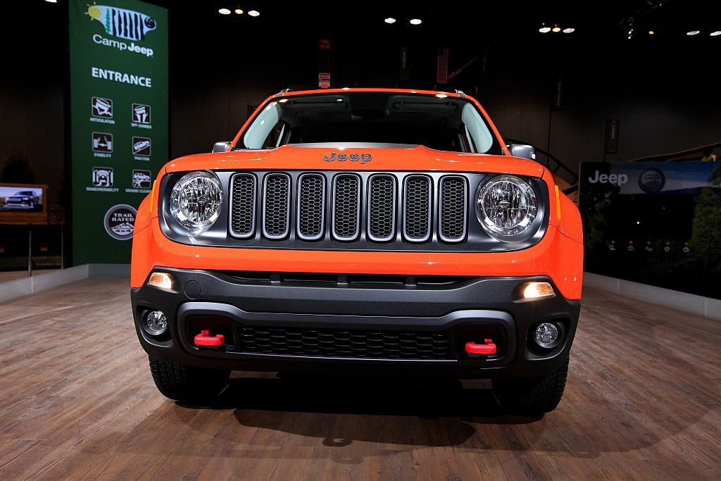 2015 Jeep Renegade at the 107th Annual Chicago Auto Show at McCormick Place