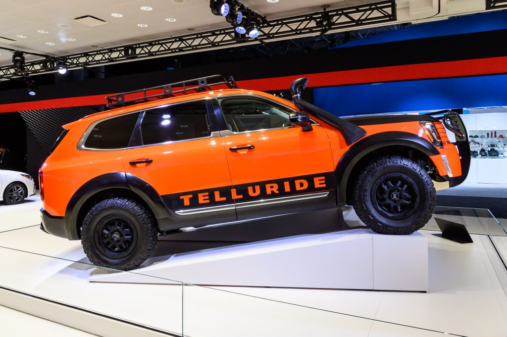 Kia Telluride On Display