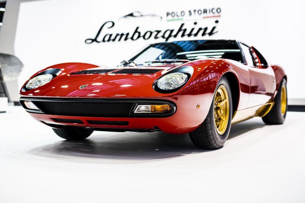 Lamborghini Miura At Concours D'Elegance