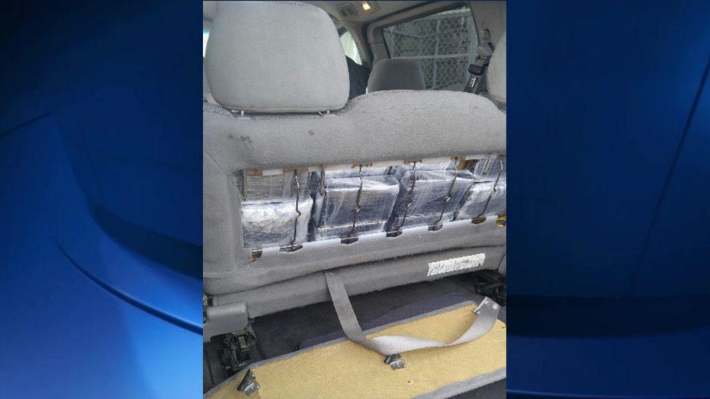Meth Found in Minivan Seats