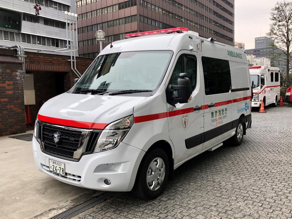 Nissan NV400 Electric Ambulance