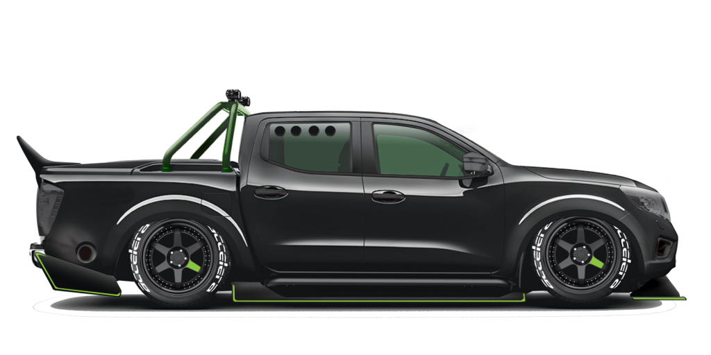 side view of proposed Narvana GT-R