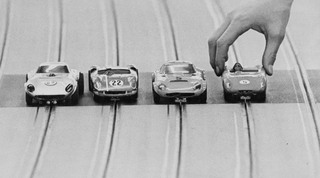 Slot Cars on Track