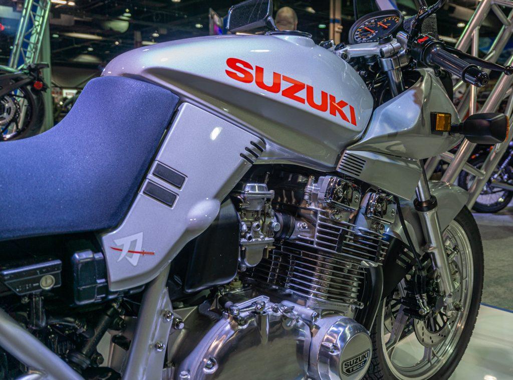 Suzuki GS1100 Katana detail