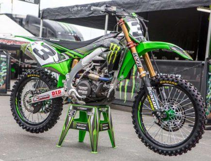 Eli Tomac's Dirt Bike