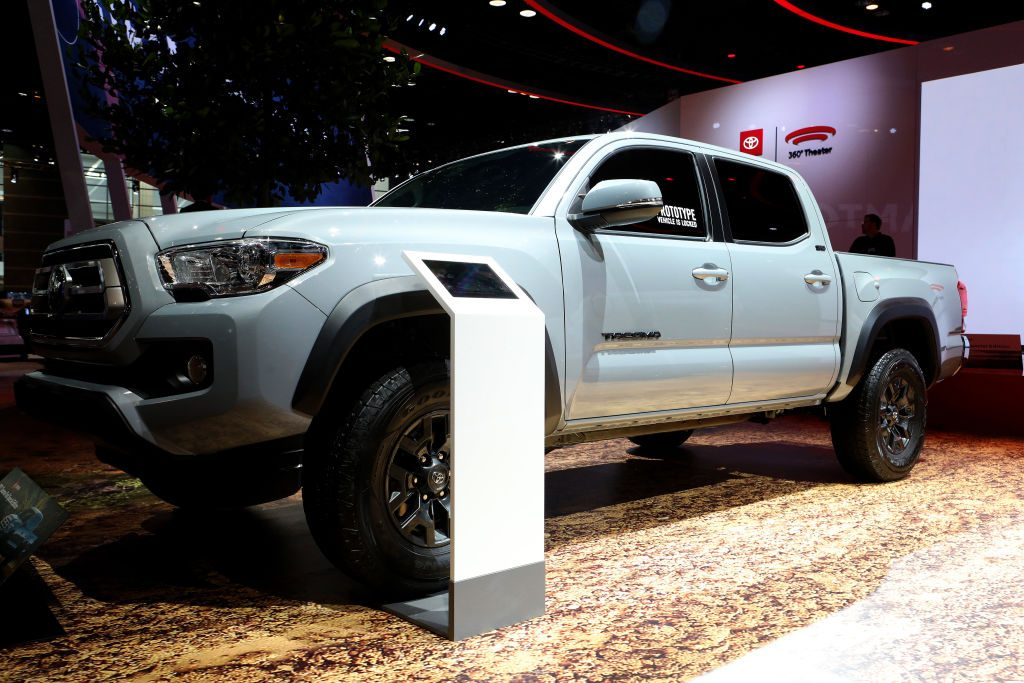 2020 Toyota Tacoma Trail Special Edition is on display at the 112th Annual Chicago Auto Show