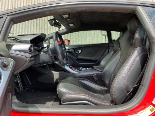 World's highest mileage Lamborghini Huracan black interior