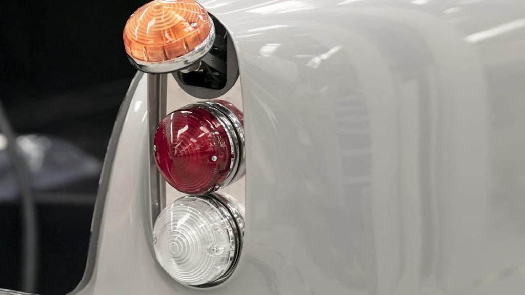 rear flipping taillight on continuation series Aston Martin DB5