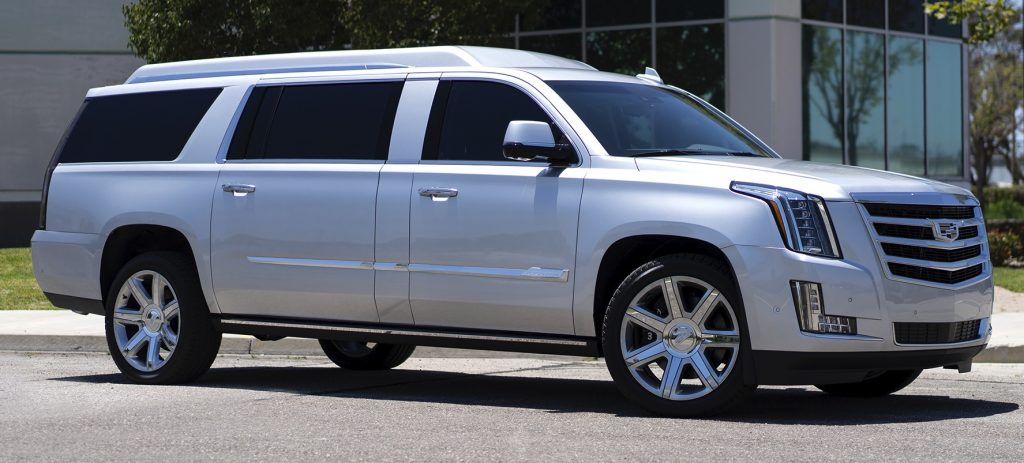 Tom Brady's extra long Cadillac Escalade, offered for sale