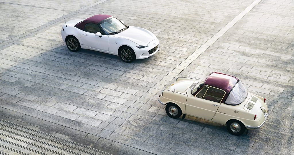 100th Anniversary MX-5 and R360