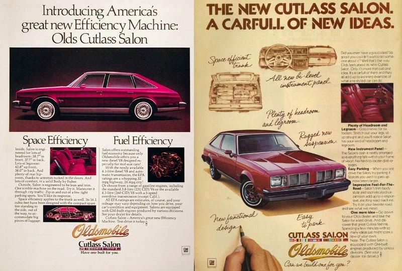 advertising for 1979 Oldsmobile Aerobacks