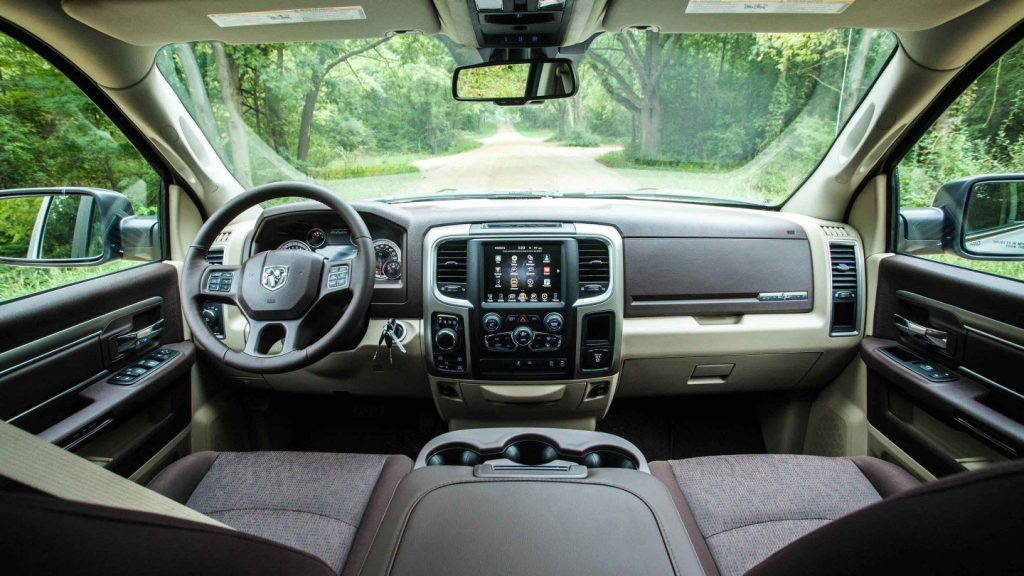 The Lone Star Trim interior is luxurious fro its price with upscale details