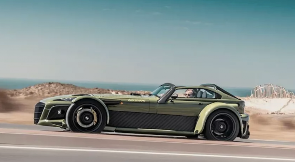 side view of 2020Donkervoort D8 GTO-JD70