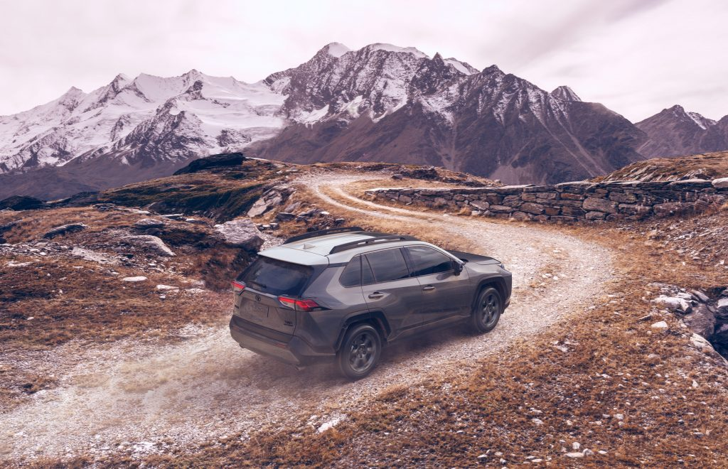 toyota rav4 trd off road driving off road