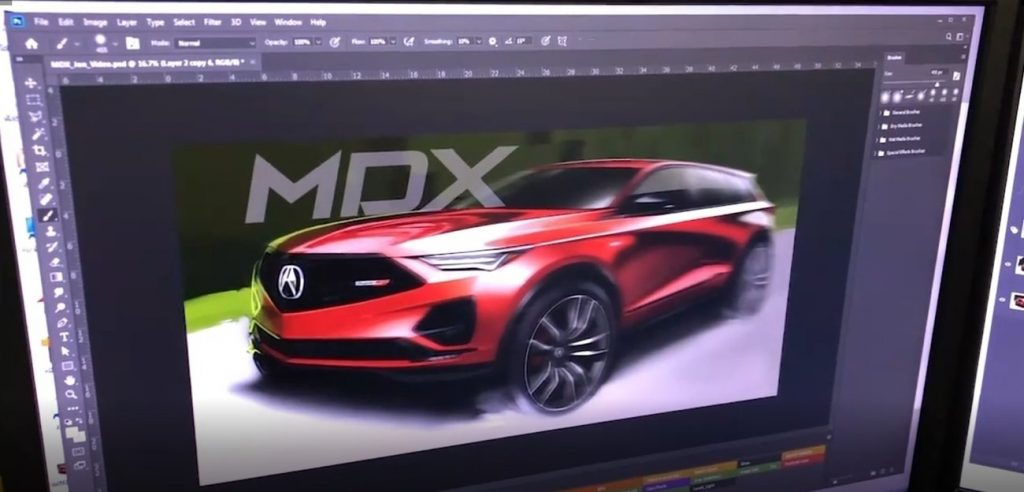Screenshot of possible Acura MDX Type S preview