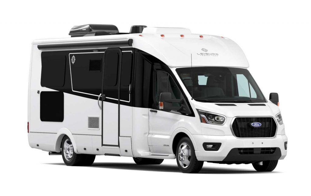 2021 Wonder RL RV in white with black accent color