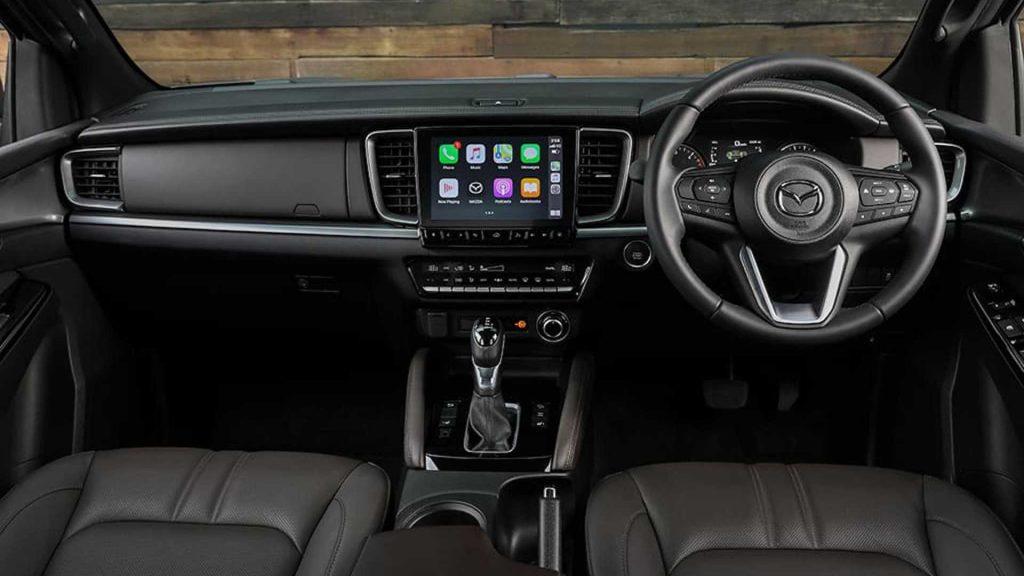 2021 Mazda BT-50 pickup truck interior