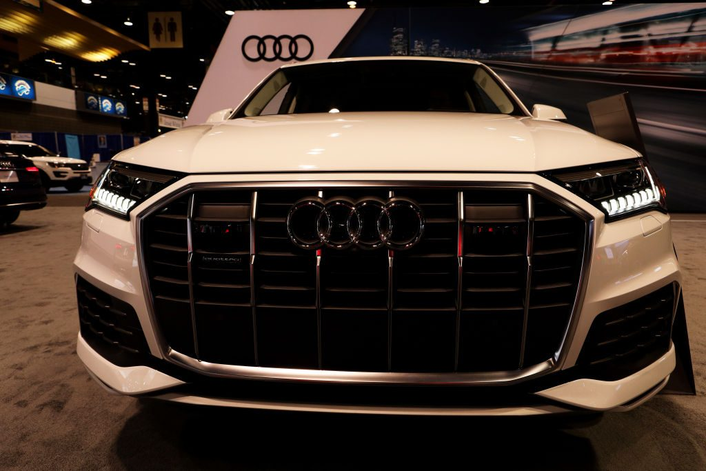 2020 Audi Q7 is on display at the 112th Annual Chicago Auto Show