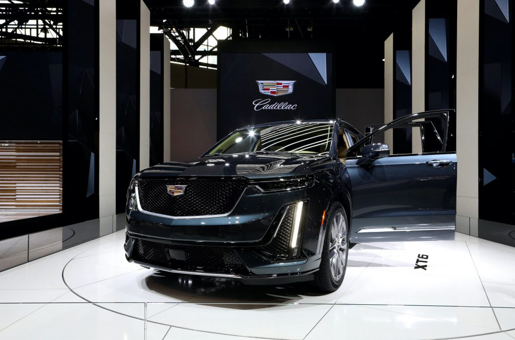 2020 Cadillac XT6 is on display at the 112th Annual Chicago Auto Show