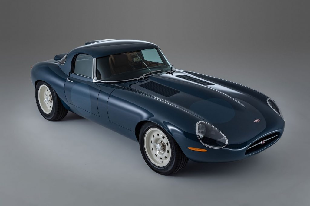 Blue Eagle Lightweight GT coupe in a studio