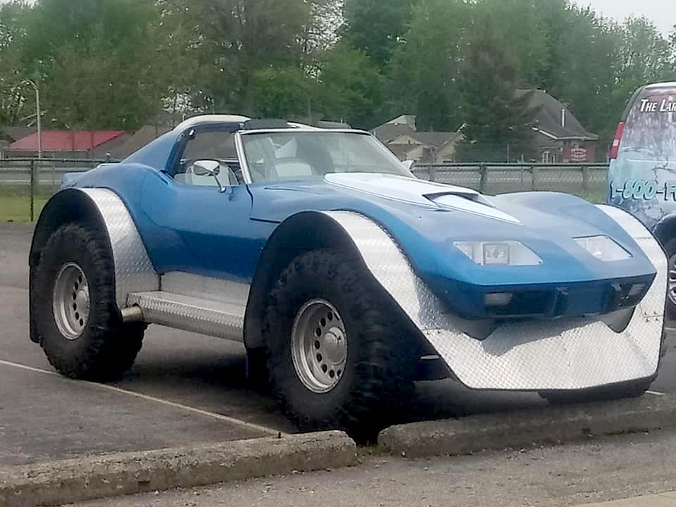 Corvette turned into an Off-road freak