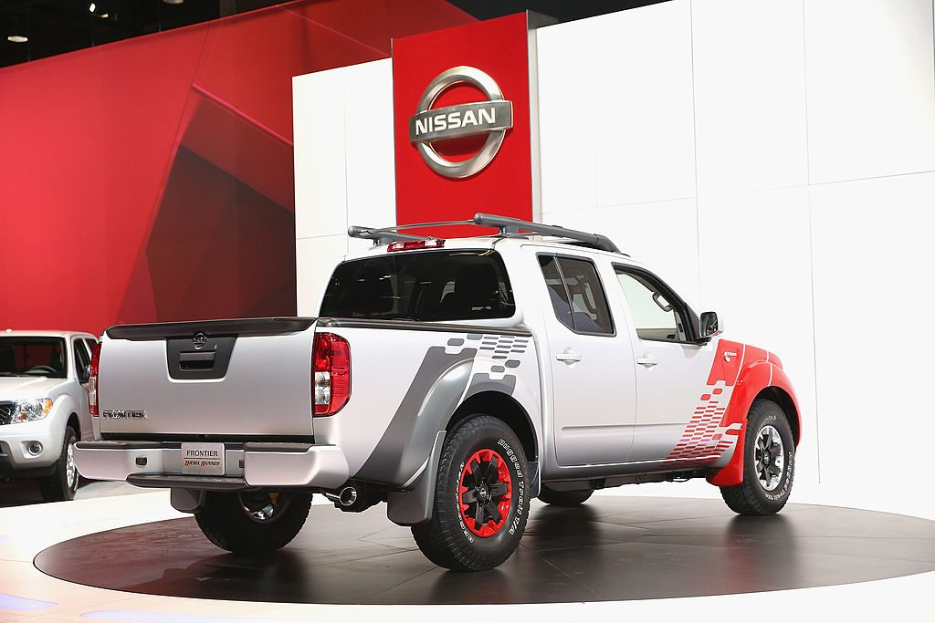 Nissan introduces the Cummins Diesel powered Frontier truck at the Chicago Auto Show
