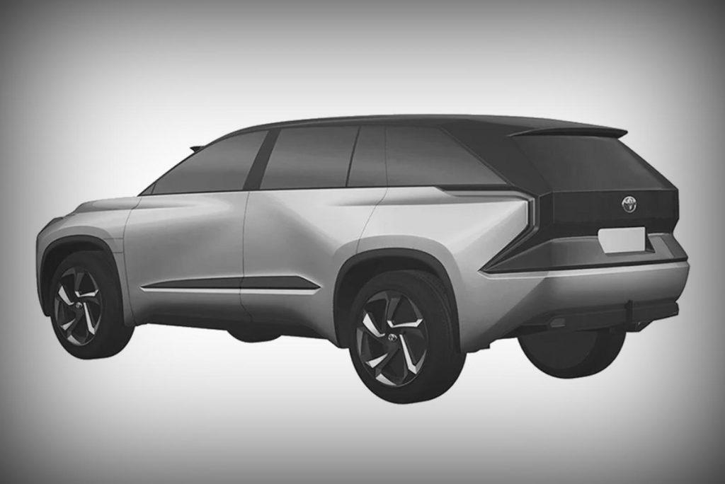 future Toyota 3-row EV SUV