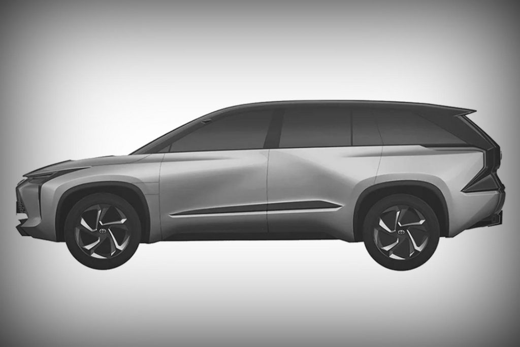 Future Toyota 3-row EV SUV
