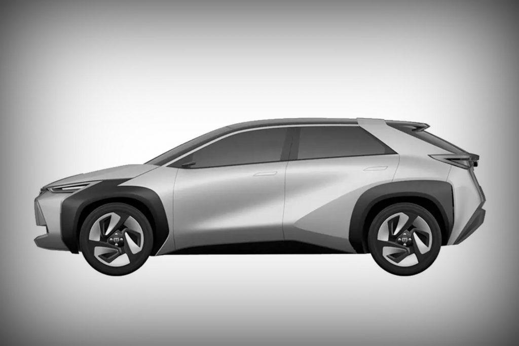 small future Toyota crossover