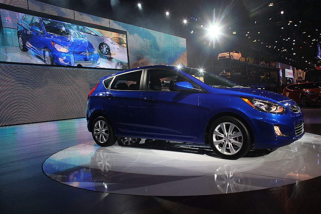Hyundai Accent on Display