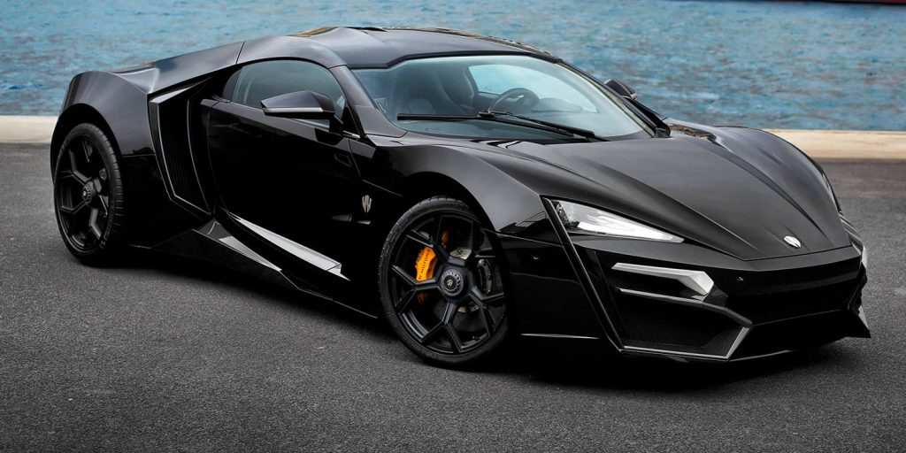 Lykan Hypersport in black