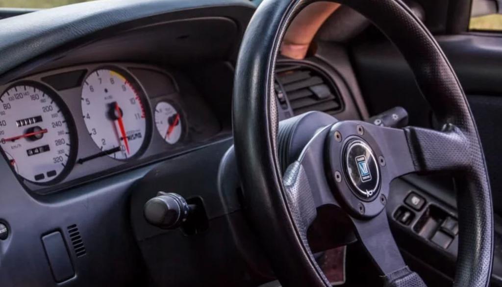 Interior of Nissan Speed Wagon Skyline