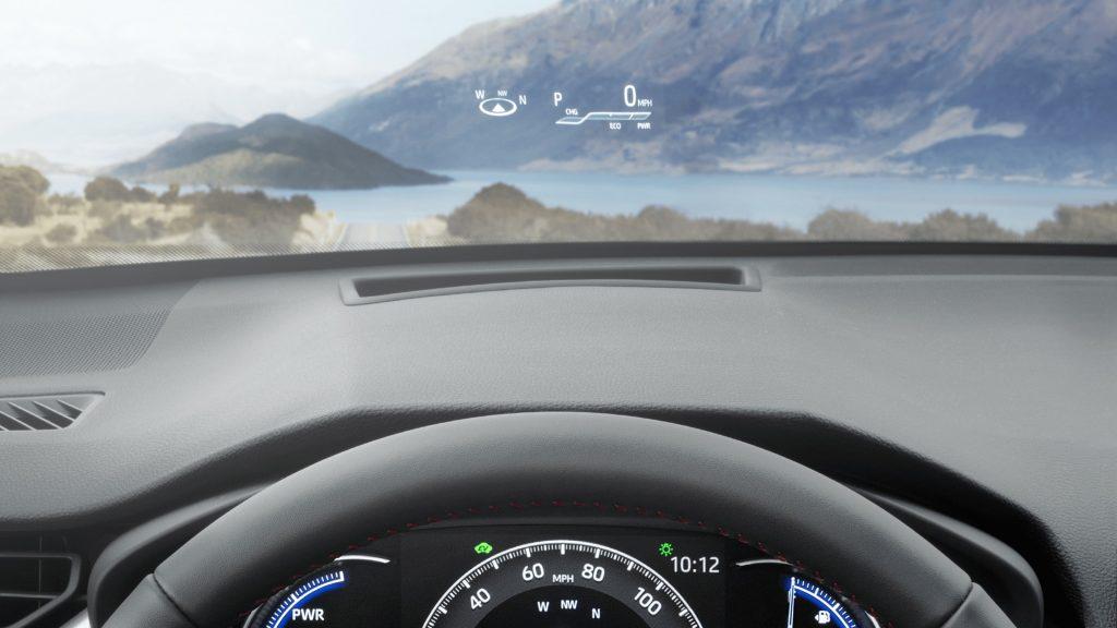 Toyota RAV4 Prime Interior heads up display