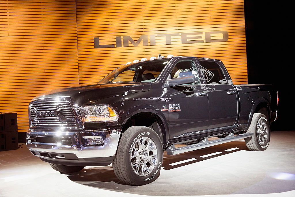 Ram introduces the 2015 2500 Laramie Limited at the Chicago Auto Show on February 12, 2015