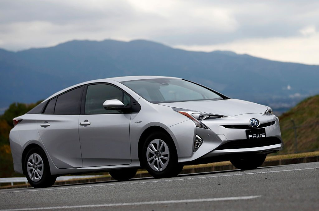 A Toyota Prius out for a test drive