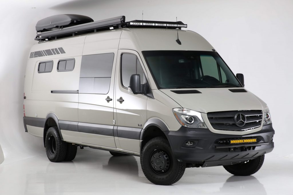 Mercedes Sprinter van conversion by RB Components