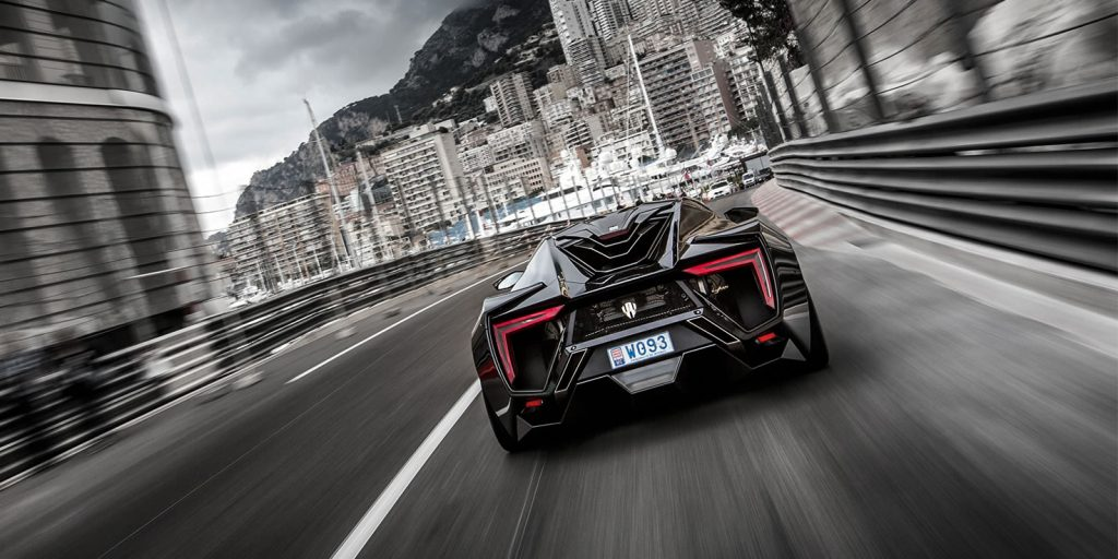 rear shot of lyken hypersport