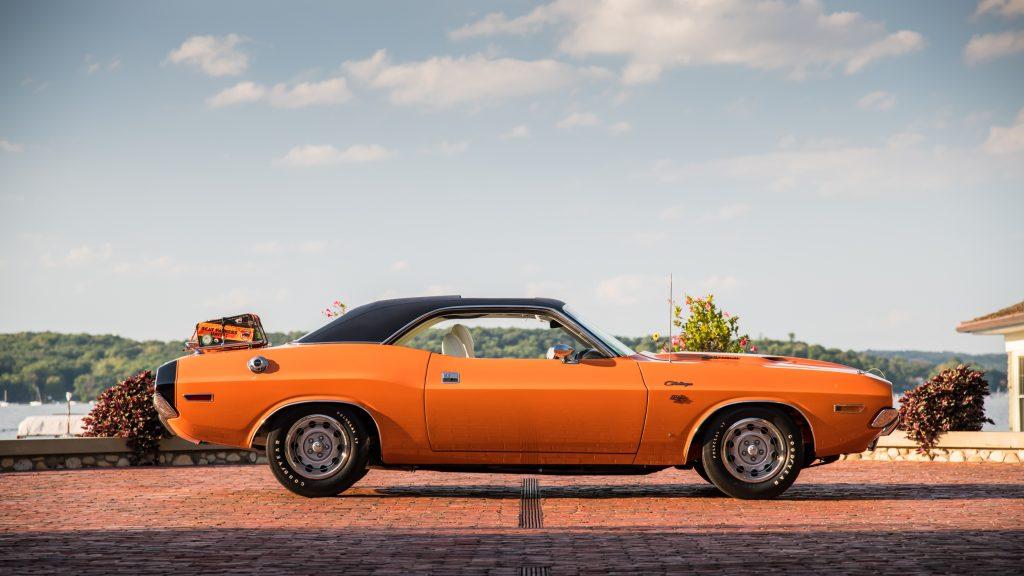 A profile picture of a Go Mango orange classic Challenger