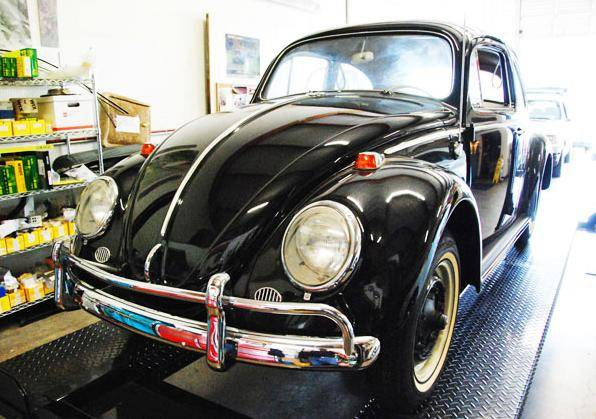 23-mile 1964 Volkswagen beetle in black
