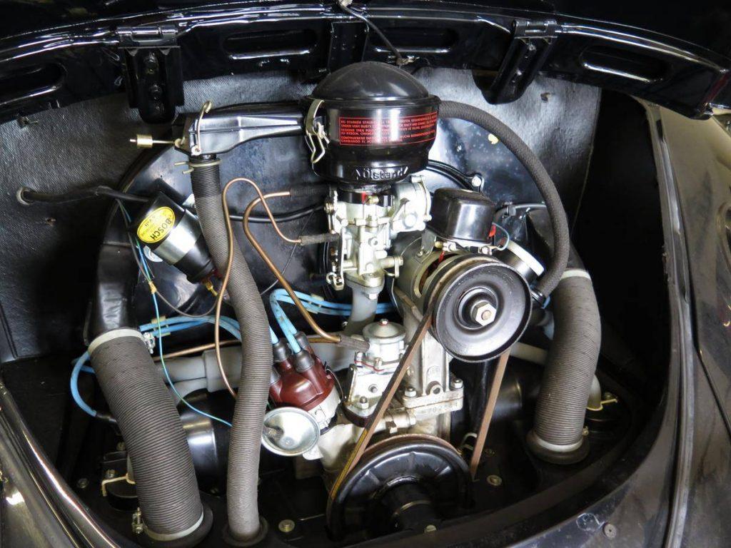 23-mile 1964 Volkswagen beetle engine